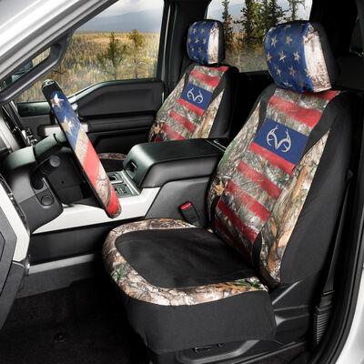 Realtree Americana Low-Back Seat Cover, Edge Camo