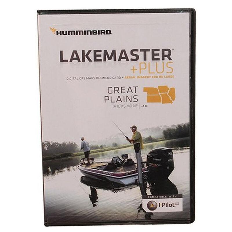 Humminbird LakeMaster Plus Chart MicroSD/SD Card, Great Plains image number 3