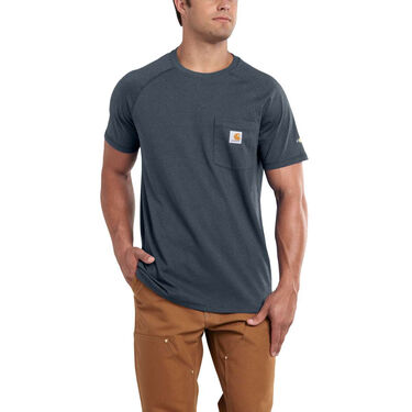 Carhartt Men's Force Cotton Delmont Short-Sleeve Tee