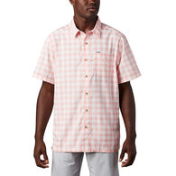 Columbia Men's PFG Super Slack Tide Short-Sleeve Camp Shirt