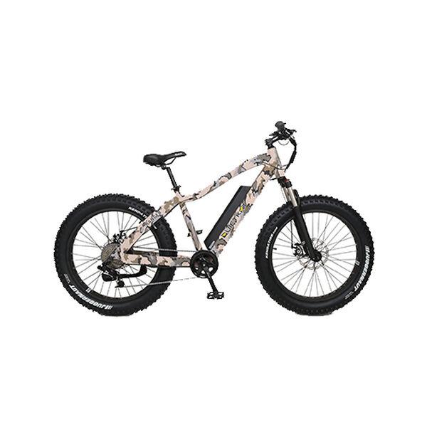 "QuietKat Ranger 750-watt Electric Mountain Bike 19"", Camo"