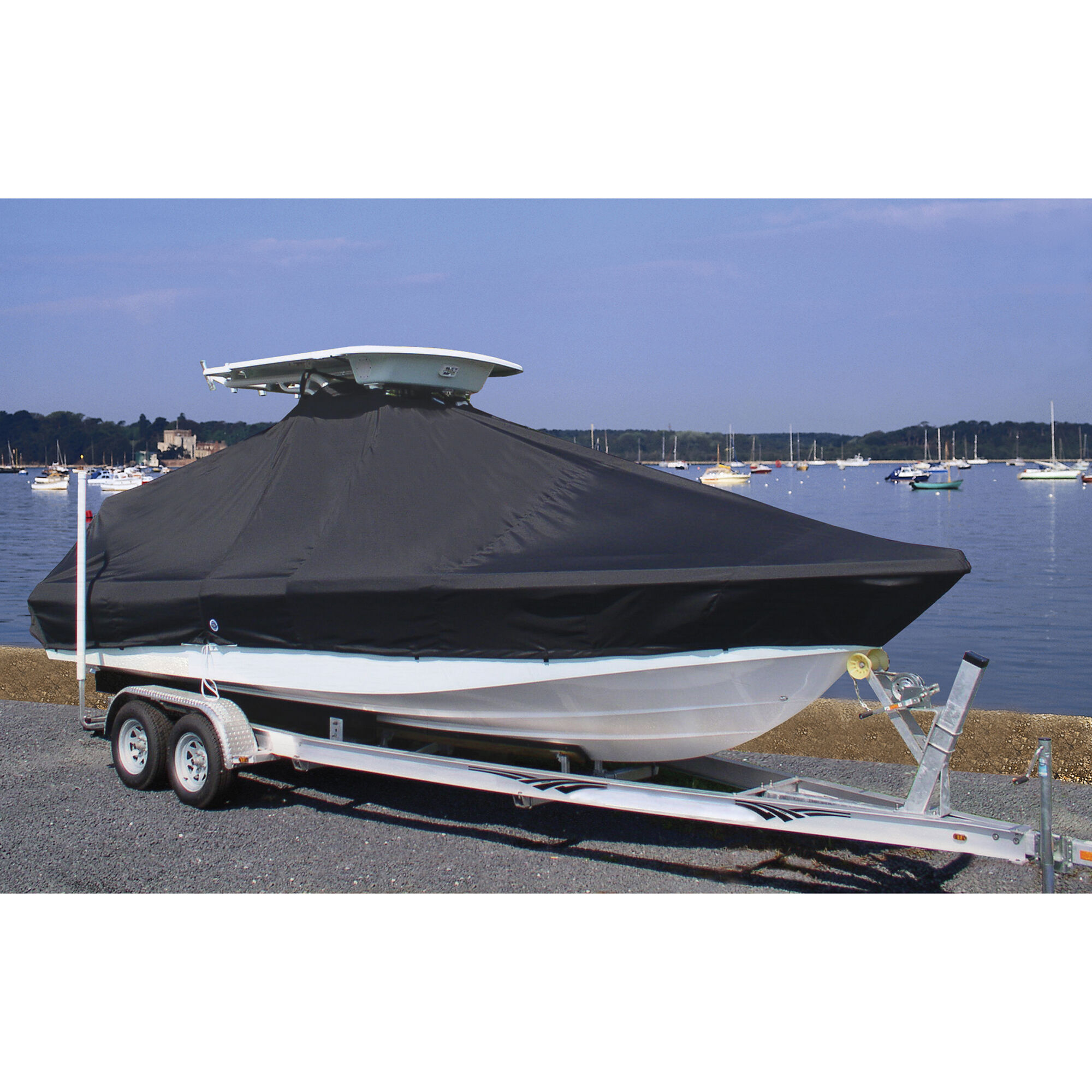 """5 2/"""" Black Boat cover extension snaps combination pack 5 1/"""" and"""