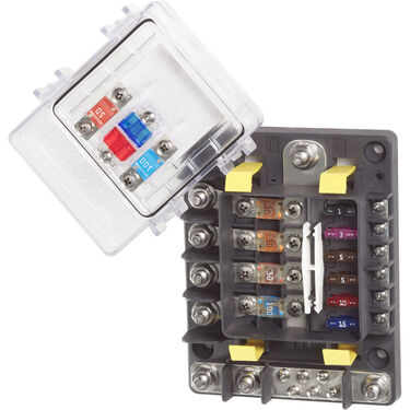 Blue Sea Systems SafetyHub 150 Fuse Block