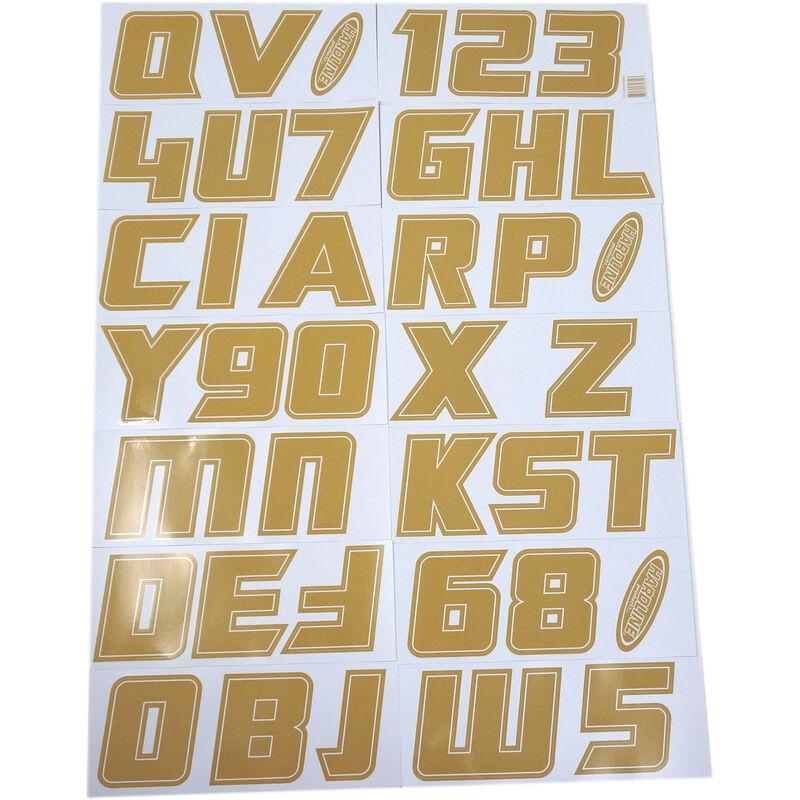 """Hardline 900 Series 3"""" Letter/Number Kit image number 9"""