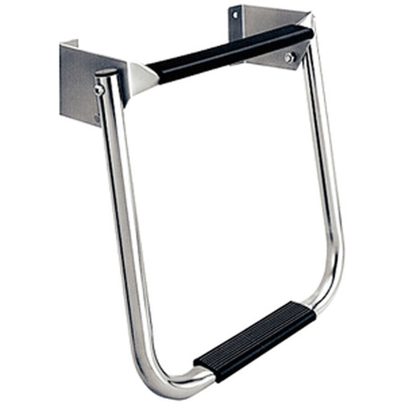 Dockmate Compact Transom Ladder, Stainless Steel image number 1