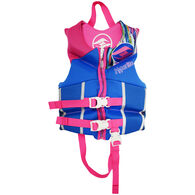 Hyperlite Pro V Child Life Jacket, blue/pink