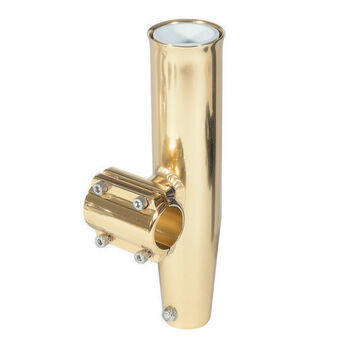 "Lee's Gold Horizontal Clamp-On Fishing Rod Holder, 2"" dia., 6"" circ."