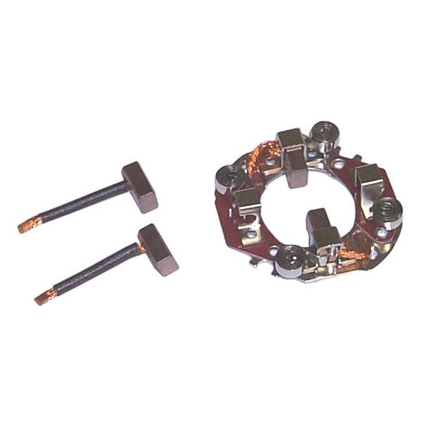 Sierra Brush Holder Assembly For Yamaha Engine, Sierra Part #18-56004