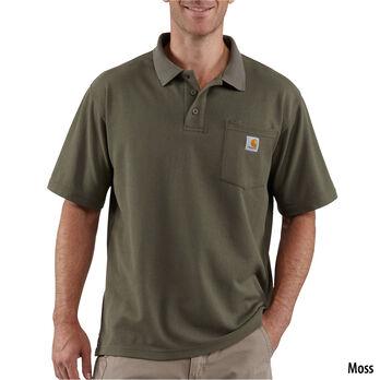 Carhartt Men's Contractor's Work Pocket Polo Shirt
