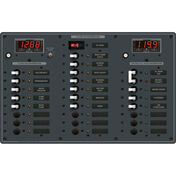Blue Sea AC Main/DC Main Toggle Circuit Breaker Panel, Model 8408