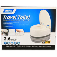 Camco Travel Toilet, 2.6 Gal.