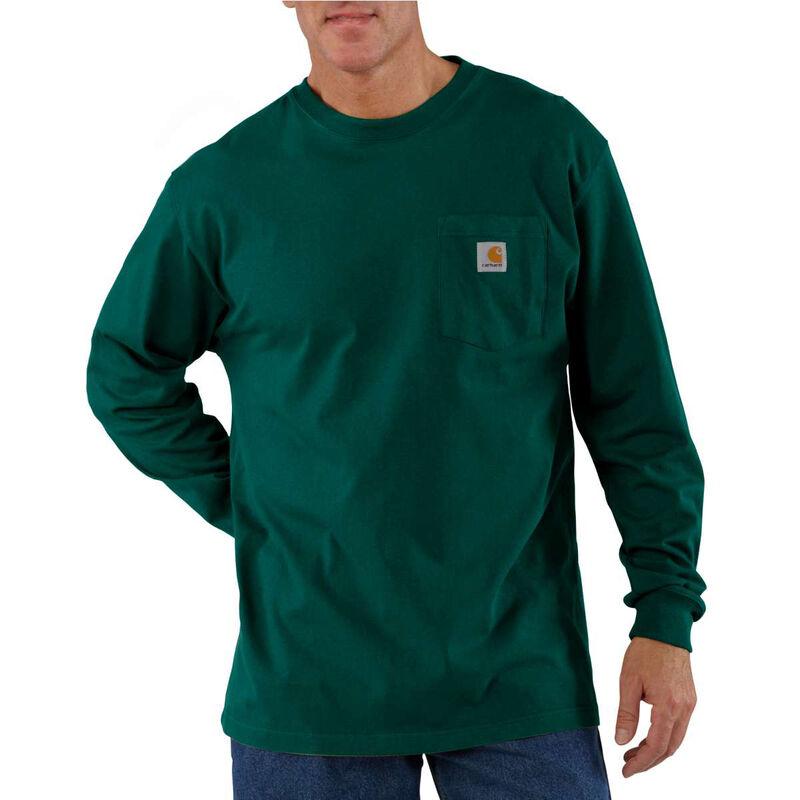 Carhartt Men's Workwear Long-Sleeve Pocket Tee image number 19