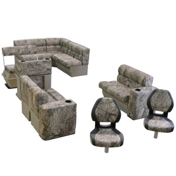 Toonmate Scout Series Premium Pontoon Furniture Fishing Package