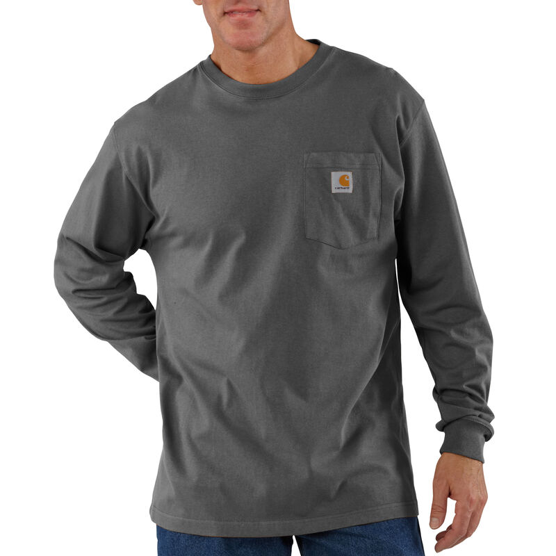 Carhartt Men's Workwear Long-Sleeve Pocket Tee image number 14