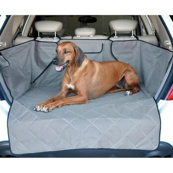 Quilted Cargo Cover, Gray
