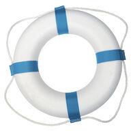 "Life Ring, Decorative White 17"""