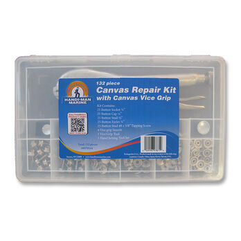 Handi-Man Canvas Repair Kit With Vice Grip
