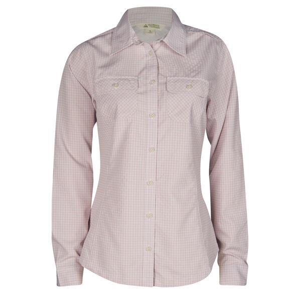Ultimate Terrain Women's Trailhead Bug Repel Long-Sleeve Plaid Shirt