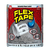 "Flex Tape, 4""W x 5'L, Clear"