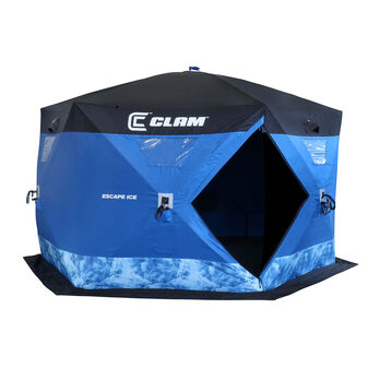 Clam Escape Ice Hub-Style Shelter
