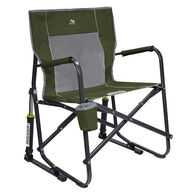 GCI Outdoor Freestyle Rocker Rocking Camp Chair, Green