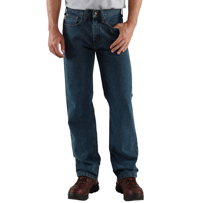 Carhartt Men's Relaxed-Fit Straight-Leg Jean image number 1