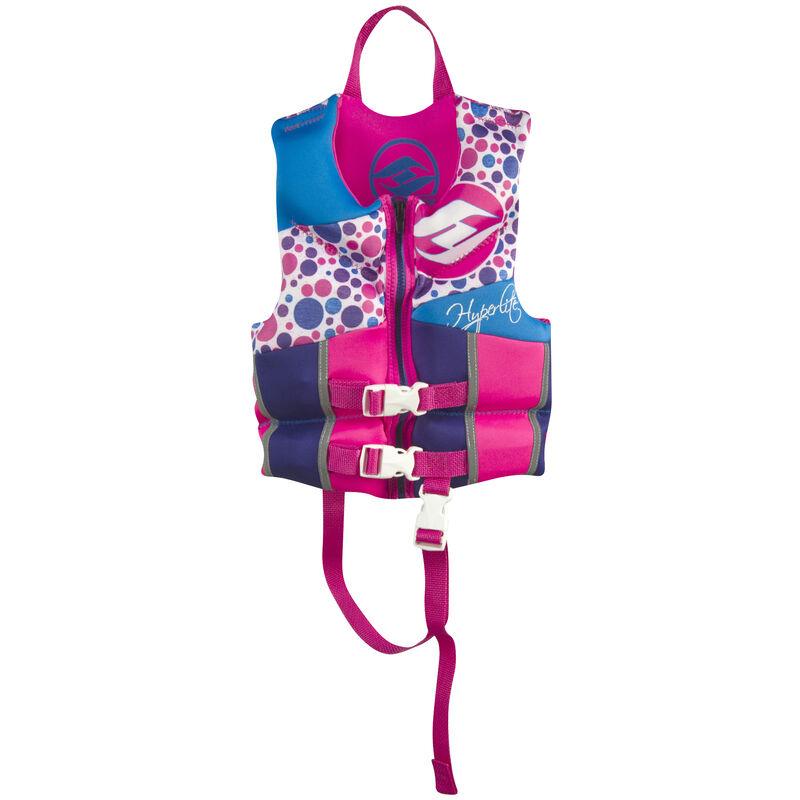 Hyperlite Pro V Child Life Jacket, pink image number 1