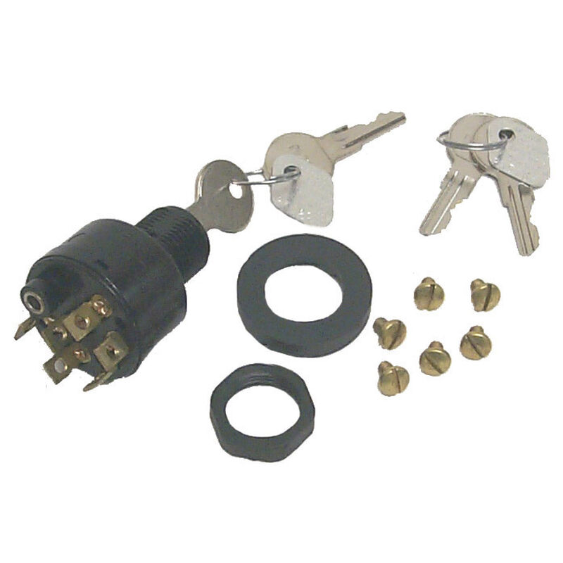 Sierra Ignition Switch, Sierra Part #MP41080 image number 1