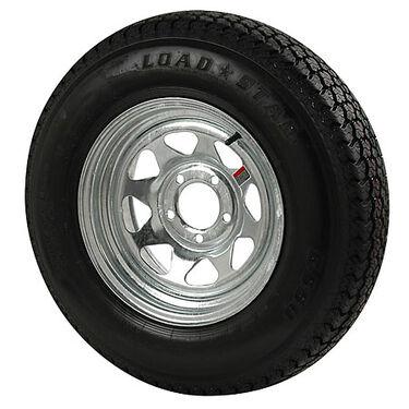 Kenda Loadstar 205/75 x 14 Bias Trailer Tire w/5-Lug Galvanized Spoke Rim