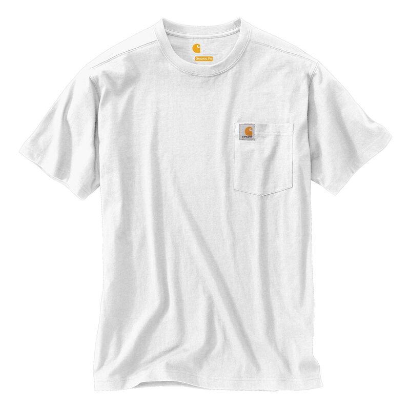 Carhartt Men's Maddock Pocket Short-Sleeved T-Shirt image number 8
