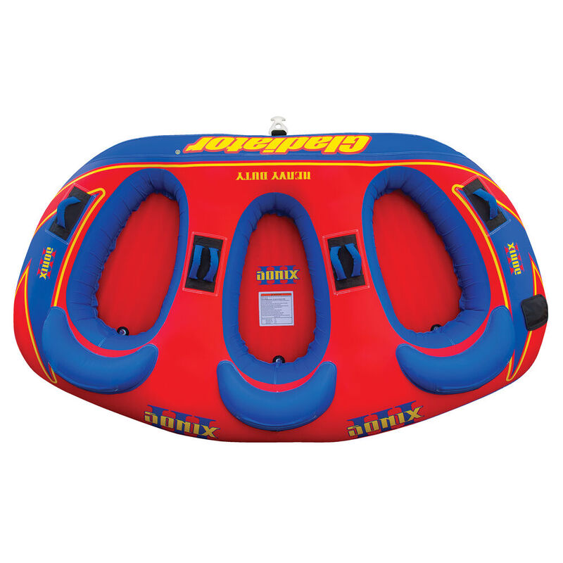Gladiator Sonix 3-Person Towable Tube image number 1