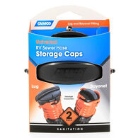 RV Sewer Hose Storage Caps for Lug & Bayonet Fittings