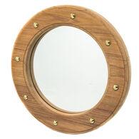 SeaForce Teak Porthole Mirror Frame