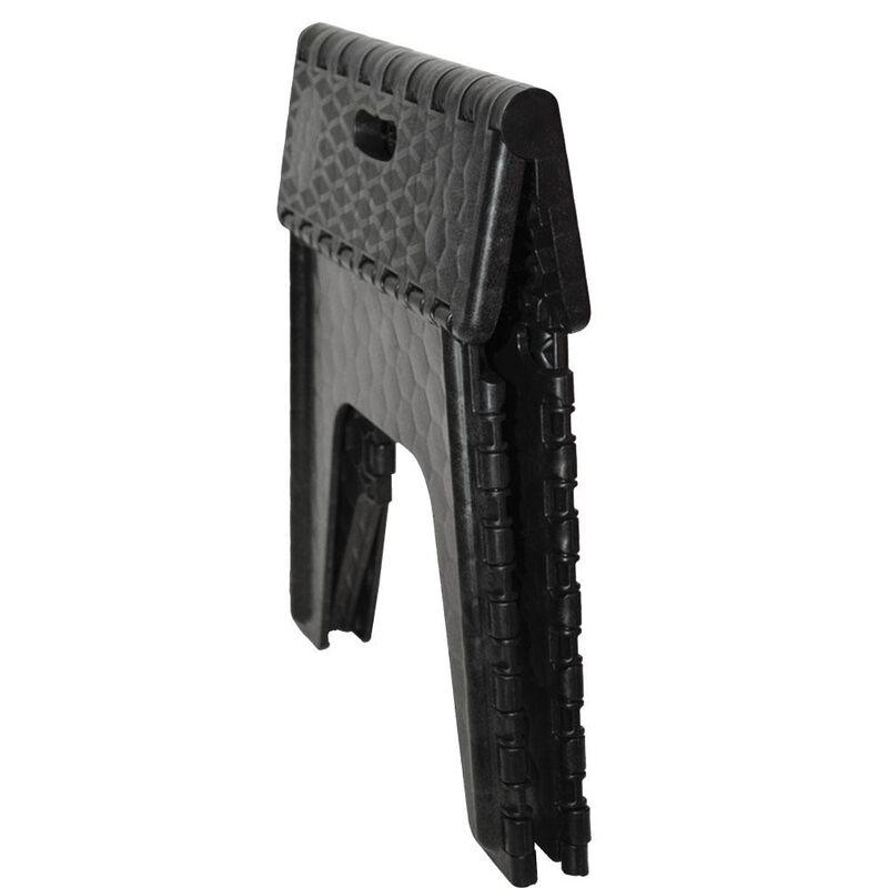 "E-Z Foldz Folding Step Stool, 12"" - Black image number 2"