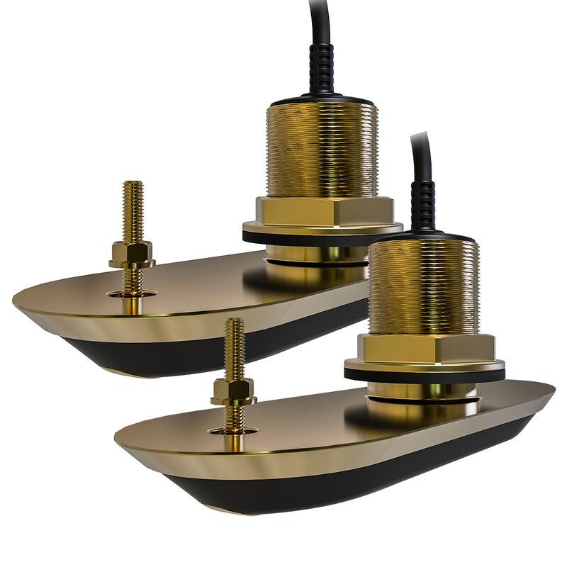 Raymarine RV-220 RealVision 3D Bronze 20° Thru-Hull Transducer System image number 1