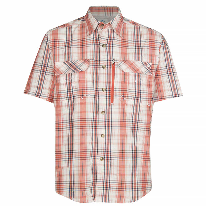 Nepallo Men's Trophy Quick-Dry Plaid Short-Sleeve Shirt image number 9