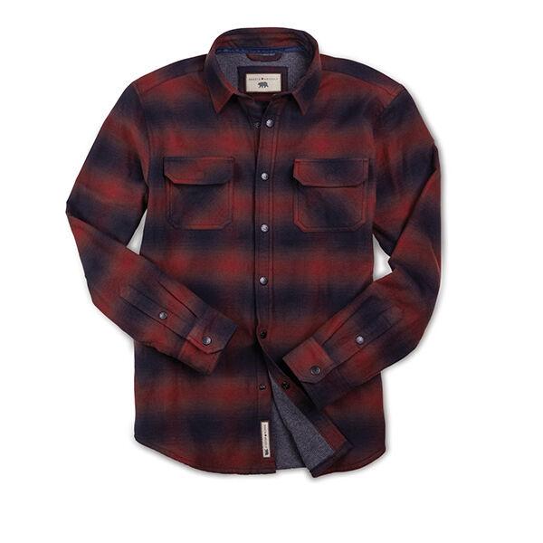 Dakota Grizzly Men's Shayne Vintage Ombre Flannel Shirt Jacket