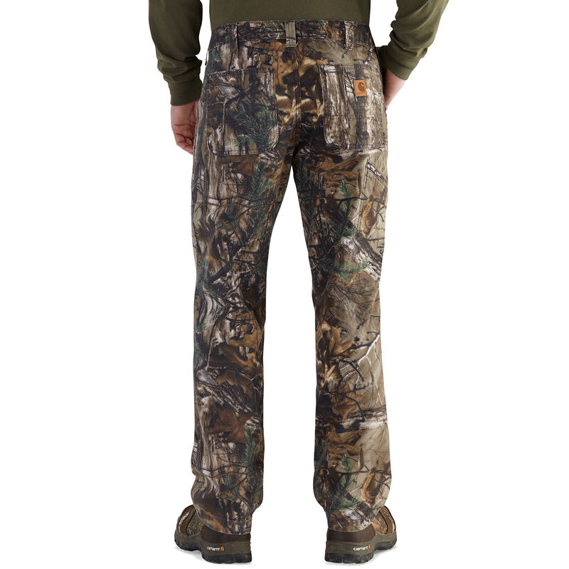 Carhartt Men's Rugged Flex Rigby Camo Dungaree Work Pant image number 2