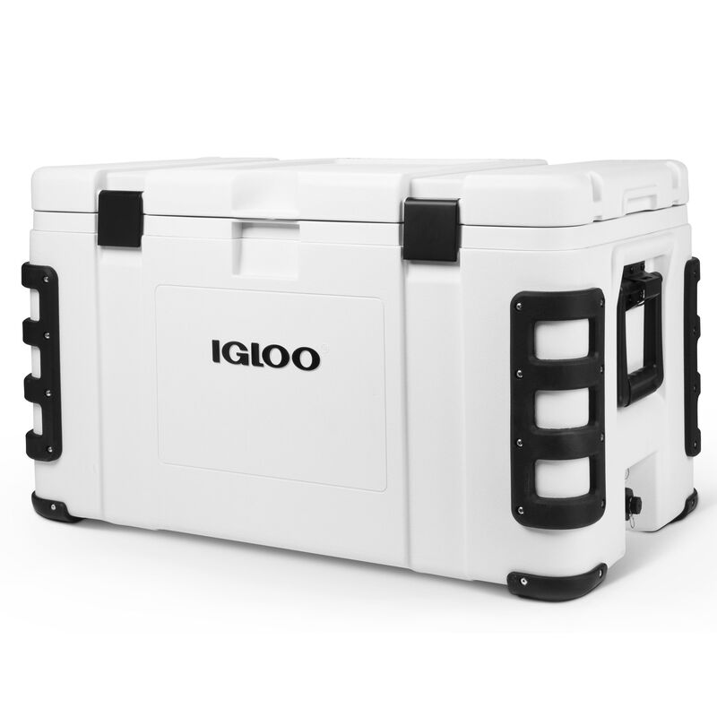 Igloo Leeward 124-Quart Cooler, White image number 1