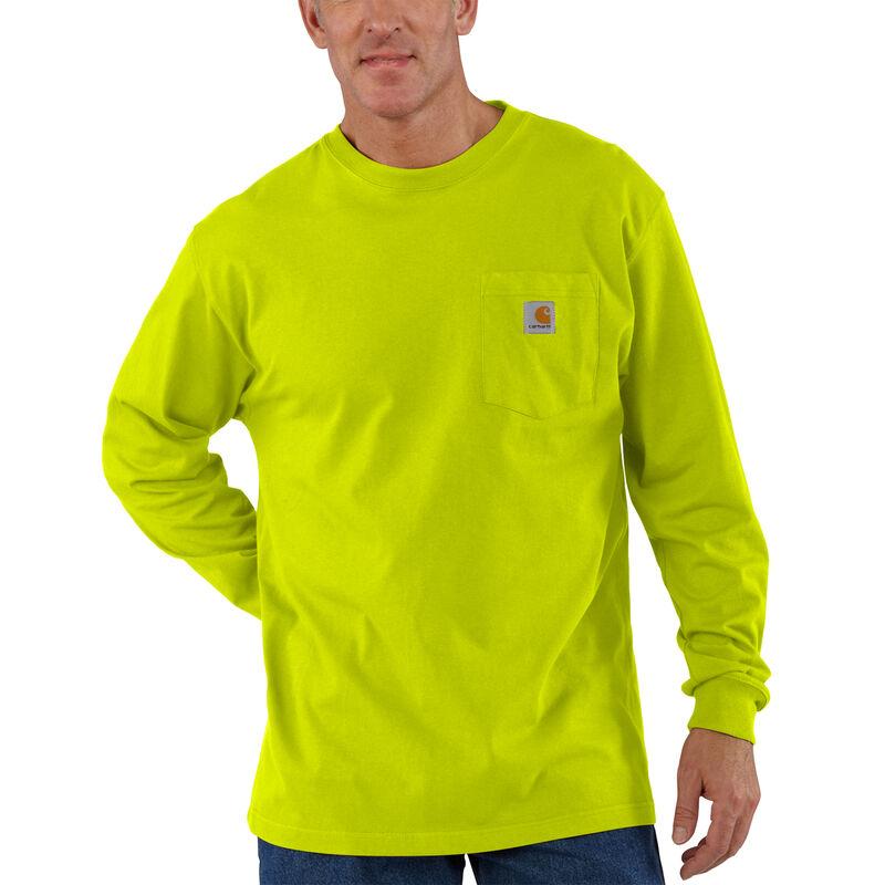 Carhartt Men's Workwear Long-Sleeve Pocket Tee image number 3