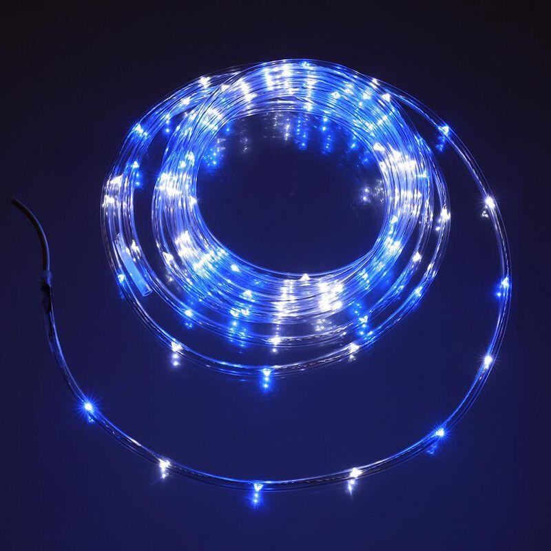 Blue & White Mini Rope Light, 16' image number 1