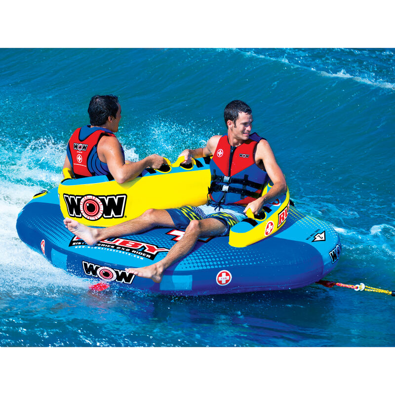 WOW Sister Ruby 2-Person Towable Tube image number 4