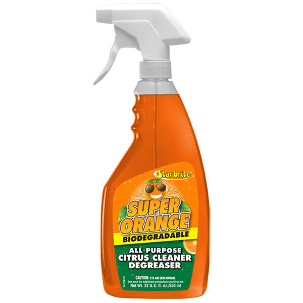 Star Brite Super Orange All Purpose Citrus Cleaner Degreaser, 22 oz.