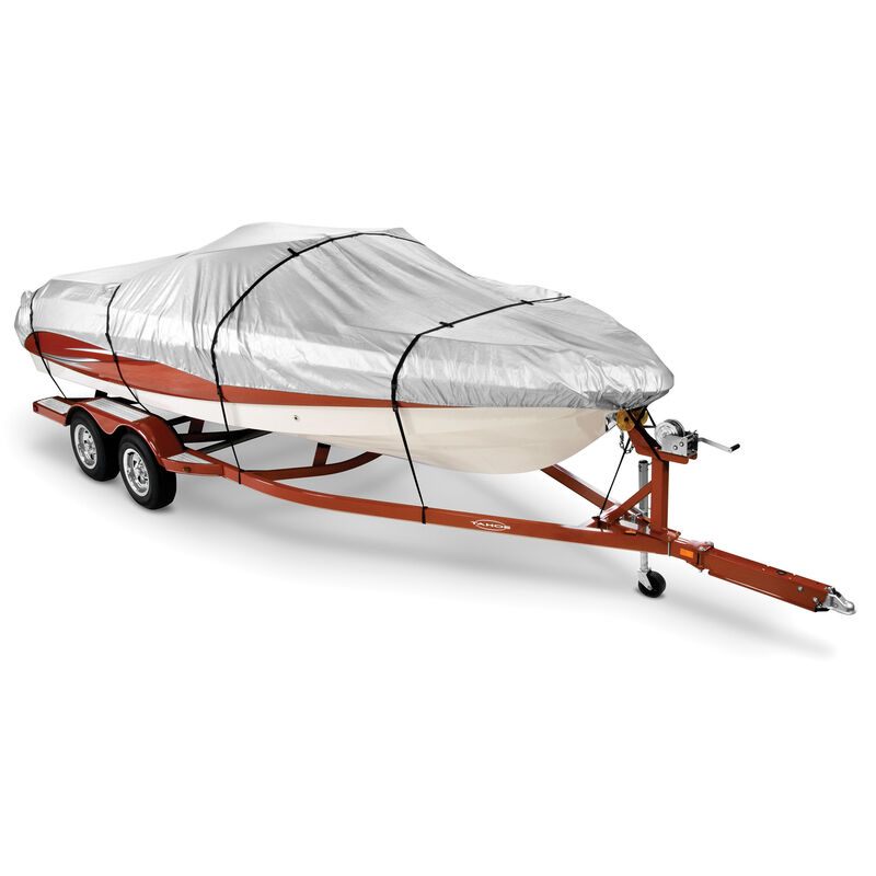 14'-16' V-Hull Fishing Boat Covermate HD 600 Trailerable Cover image number 1