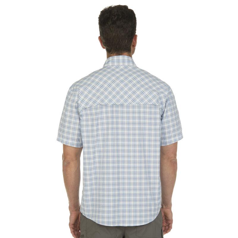 Nepallo Men's Trophy Quick-Dry Plaid Short-Sleeve Shirt image number 5