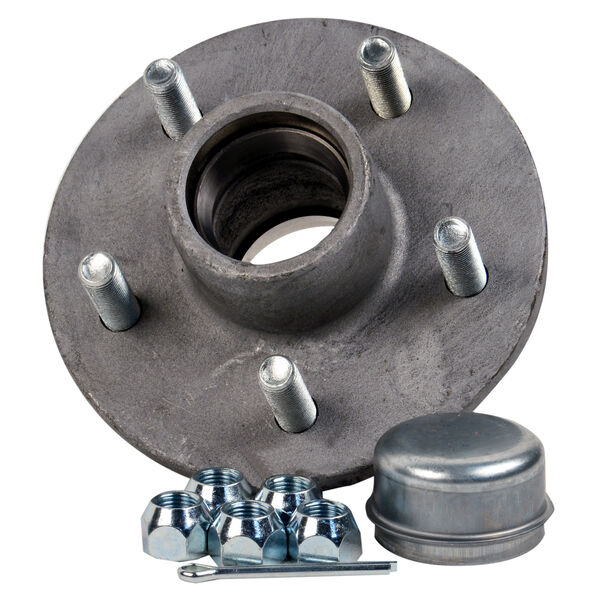 Smith 5-Stud Trailer Hub Kit With Tapered Spindle
