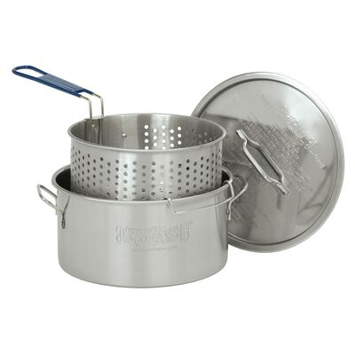 Bayou Classic® 14-qt Stainless Fry Pot