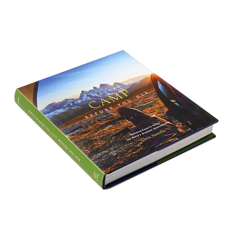 Fifty Places to Camp Before You Die Book image number 2
