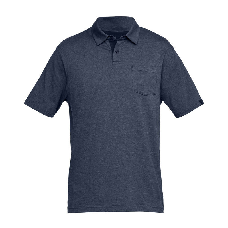 Under Armour Men's Charged Cotton Scramble Polo image number 1