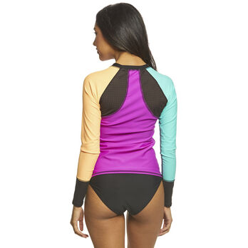 Body Glove Women's Bounce Surf's Up Rashguard Long-Sleeve Shirt